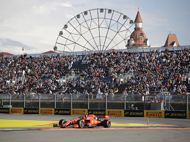 Formula 1 2019 Ferraris Charles Leclerc fastest in Russian GP qualifying to clinch fourth pole in a row and sixth overall