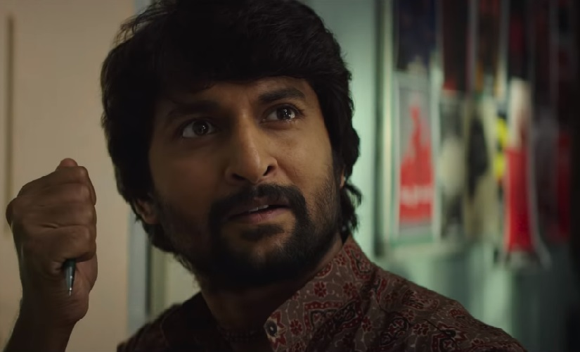 Gang Leader movie review Nani shines in a film that uses his comic timing to its full potential