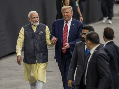 Five to 7 million people from airport to stadium Trump excited for his maiden trip to India says Modi building largest stadium in the world