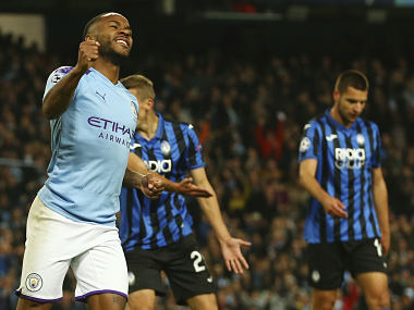 Champions League Raheem Sterling says he shouldve scored four goals in Manchester Citys victory over Atalanta