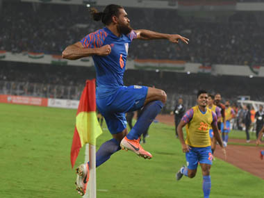 FIFA World Cup 2022 qualifiers Lastgasp Adil Khan equaliser saves Indias blushes in draw against Bangladesh