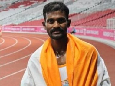 World Military Games Paraathlete Anandan Gunasekaran clinches two gold medals in mens 100m 400m IT1 events to open Indias account