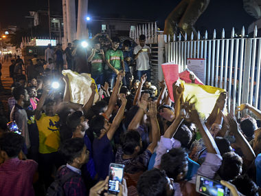 Hundreds of supporters of Bangladesh's cricket captain Shakib Al Hasan protested on Wednesday. AFP