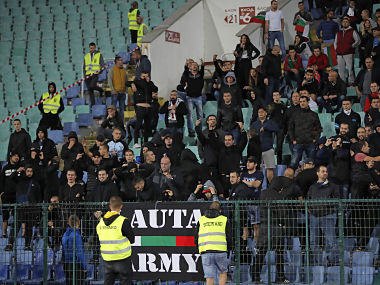 UEFA Euro 2020 Qualifiers Bulgarian police detain six people following racist abuse during England clash