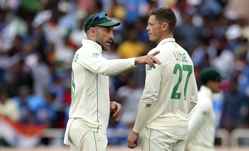 By the time the caravan moved to Ranchi, Faf du Plessis looked completely bereft of any ideas. AP