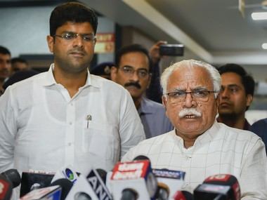 Manohar Lal Khattar expands Haryana cabinet 10 MLAs including BJP leader Anil Vij take oath at Raj Bhavan