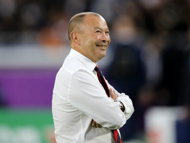 England rugby coach Eddie Jones advocates eliminating scrum resets reducing substitutes to speed up sport