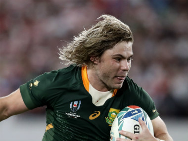 Rugby World Cup 2019 South Africa scrumhalf Faf de Klerk expects massive battle in the air against Wales in semifinal