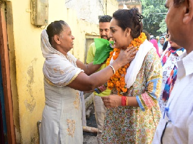 Haryana polls With exminister Nirmal Singh daughter Chitra Sarwara in fray contest gets tougher for Congress in Ambala