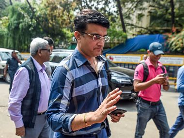 File image of Sourav Ganguly. Getty