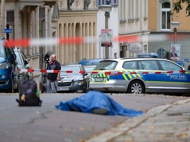 Two shot dead near synagogue in Germanys Halle suspect held another Turkish restaurant was also targetted say reports