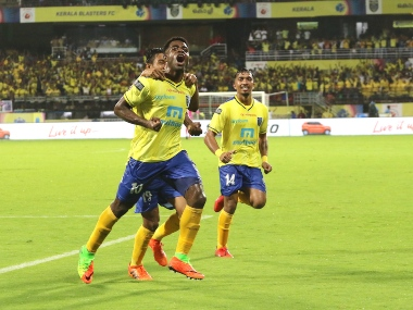 ISL 201920 New recruit Bartholomew Ogbeches brace helps Kerala Blasters beat ATK in lung opener