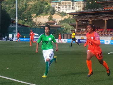 SAFF U15 Womens Championship Bangladesh hold India to 11 draw in penultimate group match