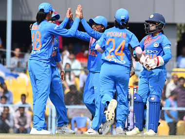 File image of India women's cricket team. AFP