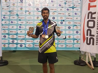 After relishing double delight at World Deaf Tennis Championships Prithvi Sekhar says positive mentality is key to success