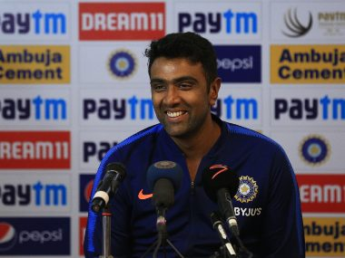 R Ashwin spoke to media after the end of Day 3 of 1st Test. Sportzpics