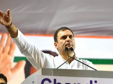 Rahul Gandhi in Mumbai Congress leader says BJP leaders feel guilt over Rafale deal slams Fadnavis govt over PMC scam