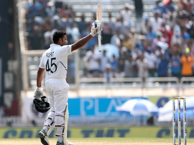 Rohit Sharma notched his maiden double century in Test in the third Test against South Africa in Ranchi. AP