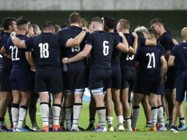 Rugby World Cup 2019 Scottish Rugby Union chief insists he wont let Dark Blues become collateral damage as typhoon threat looms large