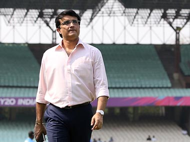 File picture of Sourav Ganguly. Getty