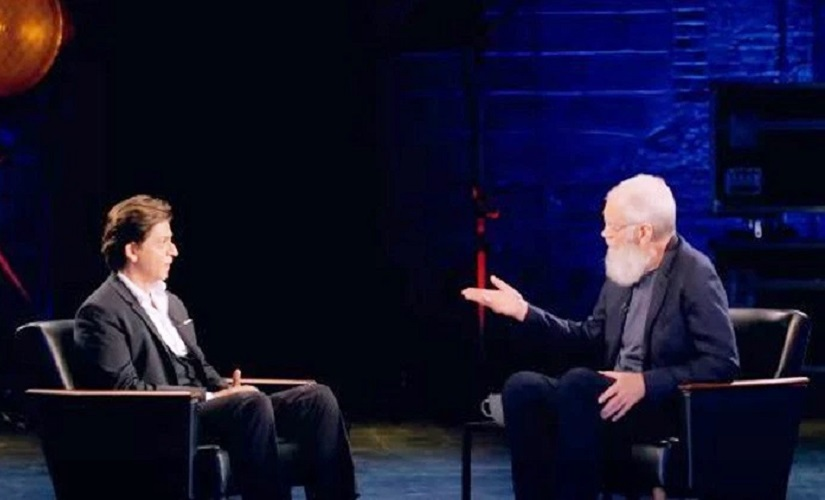 My Next Guest Needs No Introduction trailer David Letterman and Shah Rukh Khan in a seemingly witty fun episode