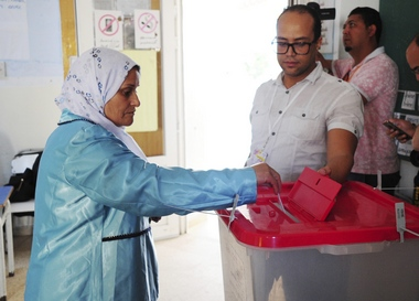 Voting begins for Tunisian presidential runoff law professor Kais Saied takes on media magnate Nabil Karoui