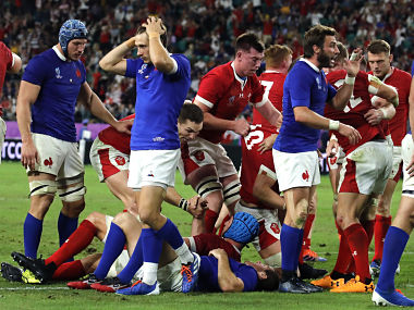 Rugby World Cup 2019 Ross Moriartey leaves it late to guide Wales to semifinal with thrilling win over 14man France