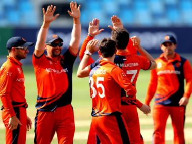 Netherlands beat UAE to seal their spot in the first round of 2020 T20 World Cup in Australia. Twitter/Netherlands Cricket