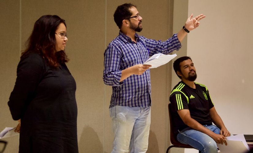 In India playwrights labs present a novel way to train theatre enthusiasts in different aspects of the craft