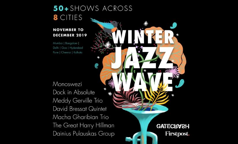 Winter Jazz Wave 2019 to present over 50 shows by seven bands across eight cities