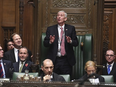 Lindsay Hoyle replaces John Bercow as Speaker of House vows to restore British Parliaments battered reputation