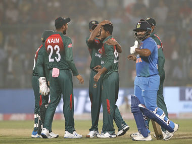 Bangladesh's Afif Hossain said that the team is just taking one game at a time. AP