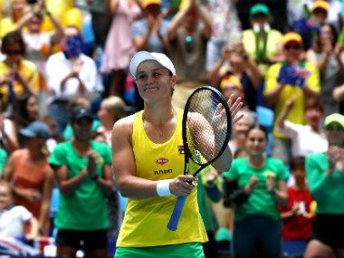 Fed Cup Final 2019 Ashleigh Barty makes it 11 for Australia with commanding win over Frances Caroline Garcia
