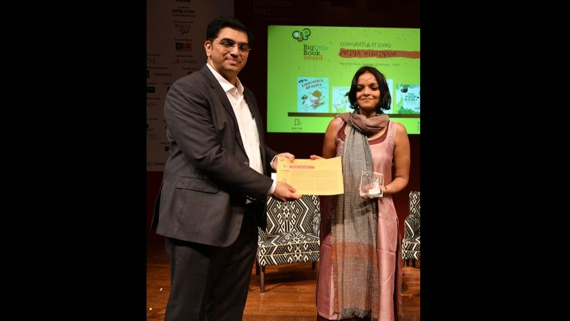 Big Little Book Awards 2019 Priya Kuriyan wins best illustrator Prabhat bags prize for best childrens literature in Hindi