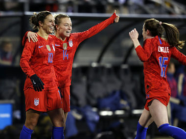 Carli Lloyd scores twice to help US Womens National Team hold off Sweden in Vlatko Andonovskis first game as coach