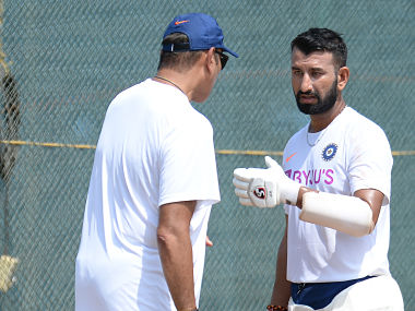 File image of Cheteshwar Pujara. AFP