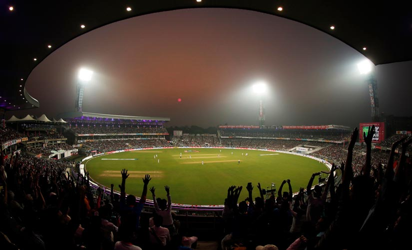 The Day/Night Test was expected to be an enthralling affair, but it failed to live up to the hype. Image courtesy: Sportzpics