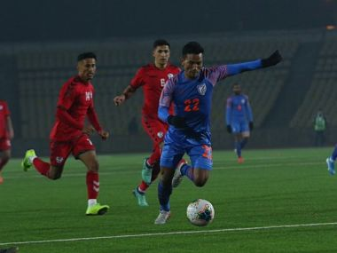 FIFA World Cup 2022 Qualifiers Uninspiring India salvage pride against Afghanistan through Seiminlen Doungels late equaliser