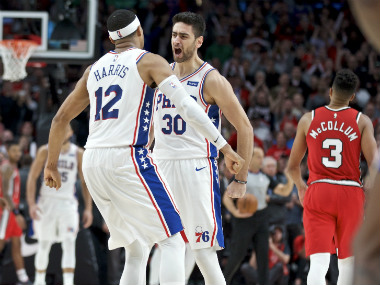 NBA Furkan Korkmazs late rescue helps Sixers maintain unbeaten start Bucks defeat defending champions Raptors
