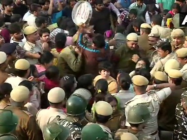 Over 600 security personnel deployed at JNU fee hike protest students were not lathicharged claim Delhi Police