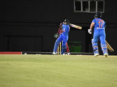 Shafali Verma played a knock of 69 runs off 35 balls while Smriti Mandhana amassed 30 runs in 28 deliveries. Image: Twitter @BCCIWomen