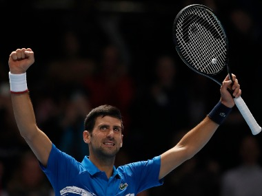 ATP Finals 2019 Novak Djokovic registers easy win over Matteo Berrettini in tournament opener