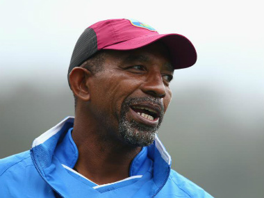 File image of Phil Simmons. Image credit: Twitter/@ICC