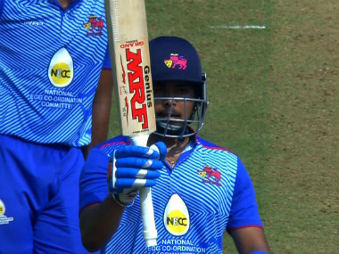 Prithvi Shaw made a successful comeback from the doping ban with a solid 63 against Assam. Image credit: Twitter/@BCCIdomestic