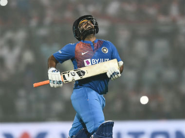 Rishabh Pant was expected to take charge after Shikhar Dhawan's dismissal, but didn't quite deliver on that front on Sunday. AFP