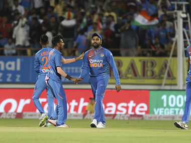 The returning Yuzvendra Chahal has once again proved his worth in the middle overs, India's stand-in captain Rohit Sharma said. AP