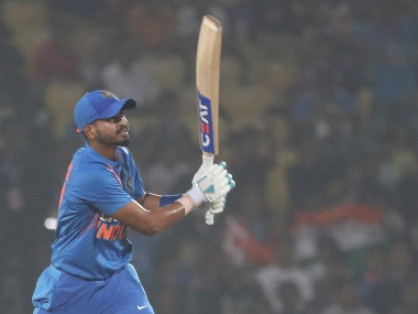 The India selectors have successfully experimented with Shreyas Iyer as they look to expand batting pool. AP