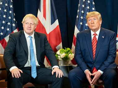 Donald Trump was once a pal to Boris Johnson now the US president is just a headache for the British PM