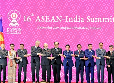 Narendra Modi pitches for enhanced connectivity between member countries at ASEAN summit in Thailand welcomes review of Free Trade Agreement