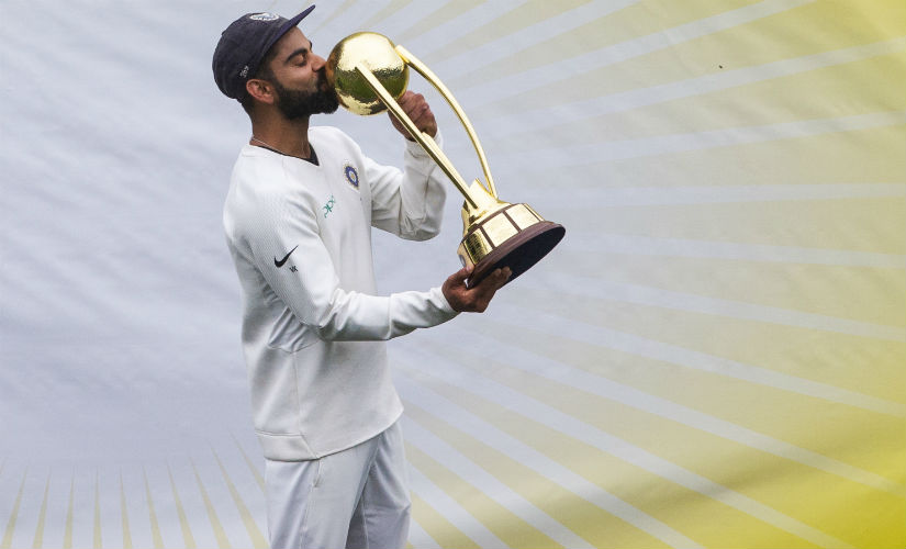 Virat Kohli's rise as a Test cricketer from the depths of 2014 to the highs of 2018 has been astonishing. Getty Images